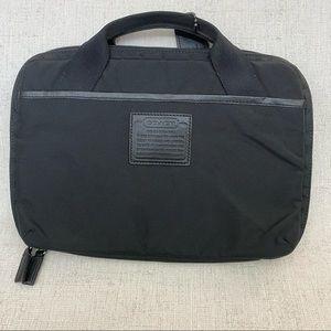 Coach Black Nylon Tablet Case